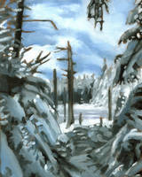 Blasted Pine by maccski