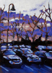 Beaconsfield Daybreak Study by maccski