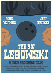 The Big Lebowski Poster by W0op-W0op