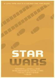 Star Wars Alternate Poster by W0op-W0op