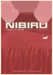 Nibiru Travel Poster by W0op-W0op