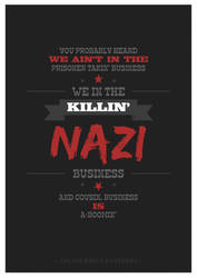 Inglourious Basterds - Business is A-Boomin' by W0op-W0op