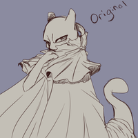 Original Mewtwo by BassoonistfromHell