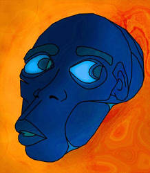 be still - blue man by lowercaseJ