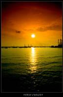 toxic sunset by inckurei