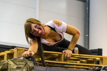 Zombie Girl Romics Ottobre 2014 by albeseba