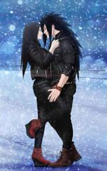 MadaHaru(OC) - Winter Love by Lesya7