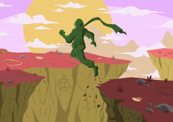 Ninja Jump by Axel9922
