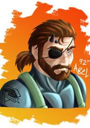 Big Boss Metal Gear Solid V The Phantom Pain by Axel9922