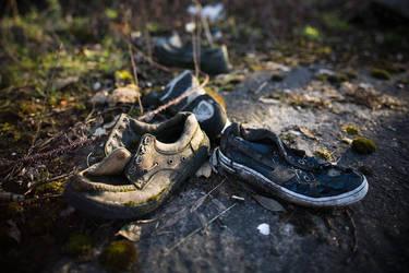 old shoes by kinderschokolade