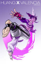Juri Han Colored by edwinhuang