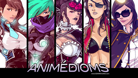Animedioms Wallpaper by edwinhuang