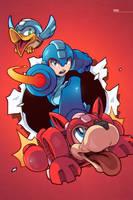 Mega Man! by edwinhuang
