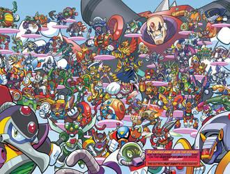 Mega Man X's Mavericks by edwinhuang