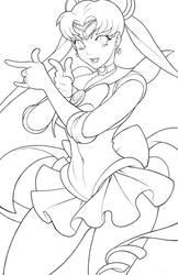 Sailor Moon (Color Me! Hi Res) by edwinhuang