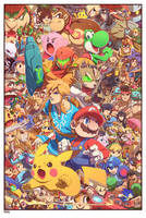 Smash Bros by edwinhuang