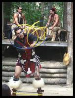 Native American Ring Dance by vampyrmistress