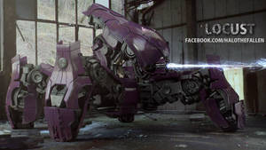 Locust - Halo The Fallen by Lucid-Grey