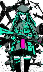 Miku Ak-47 by arsenixc