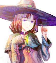 Cute witch by arsenixc