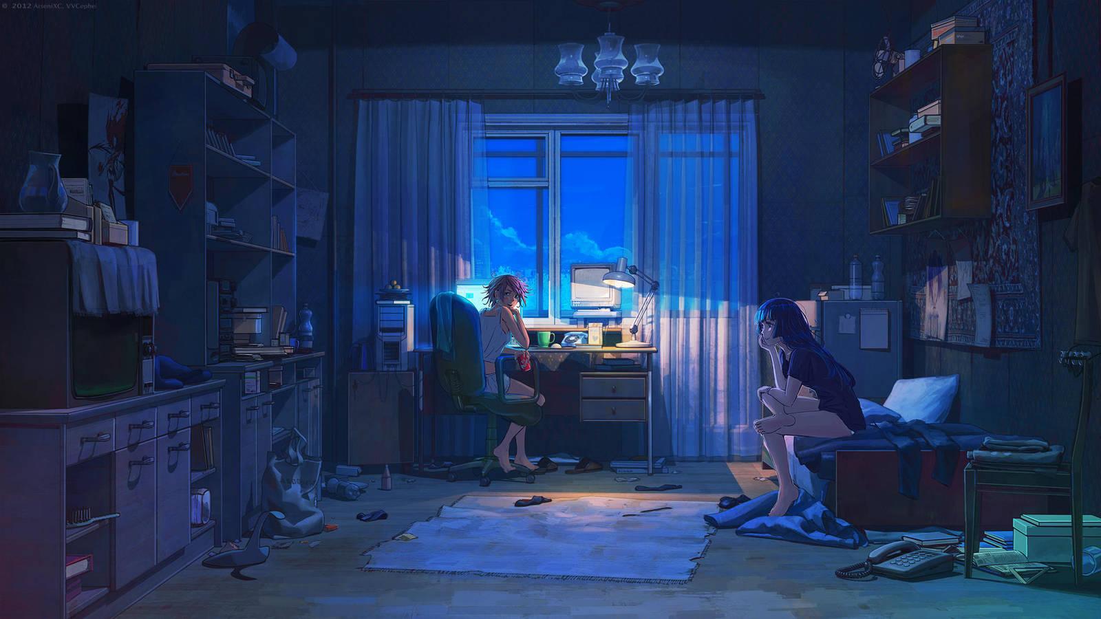Night talk by arsenixc