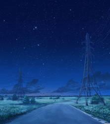 Road night version 2 by arsenixc