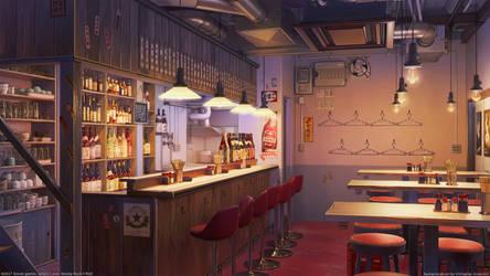 Old Bar by arsenixc