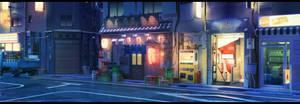 Street club night by arsenixc