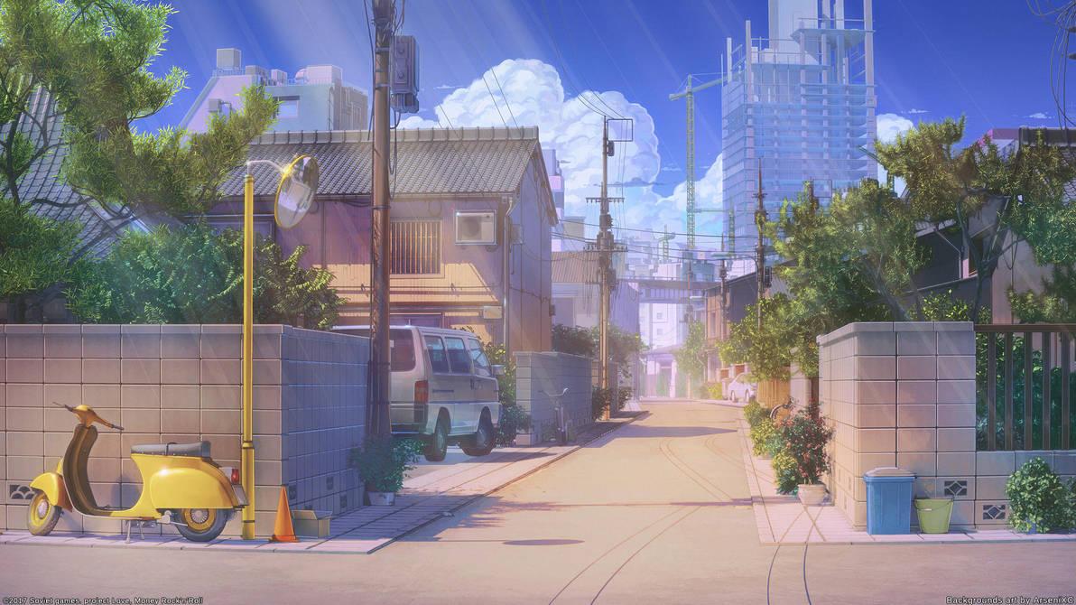 Street by arsenixc