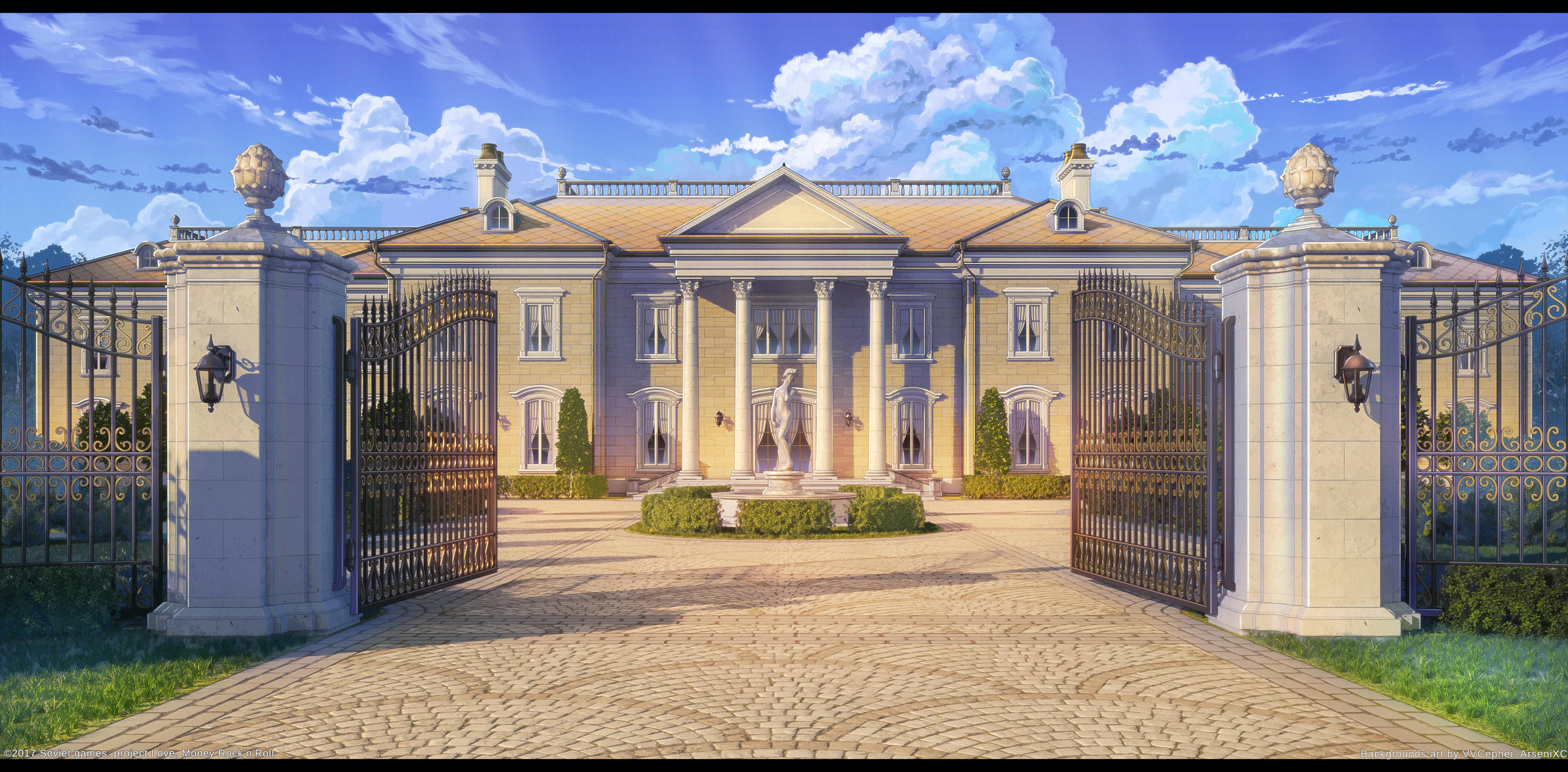 Ellie Mansion by arsenixc