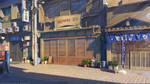 Restaurant street by arsenixc