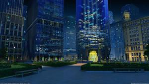 Corporation street Night by arsenixc