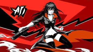 Afi Persona 5 style by arsenixc