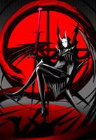 WRB Larangan war priestess by arsenixc