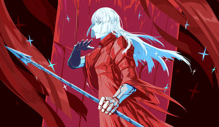 Red lancer by arsenixc