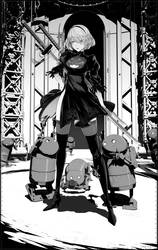 2b and small stubbys by arsenixc