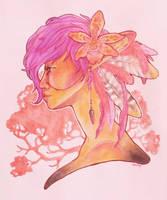 Orchid Queen by ElenyaPillow