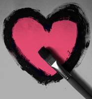 Paint my love by ZoeWieZo