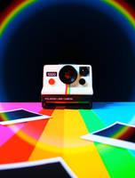 Rainbow Polaroid by ZoeWieZo
