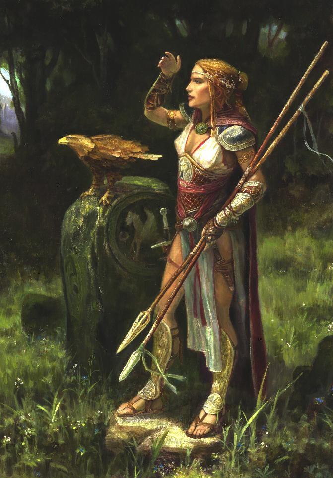 Lonely Huntress by GreenViggen