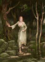 Deep in the woods by GreenViggen