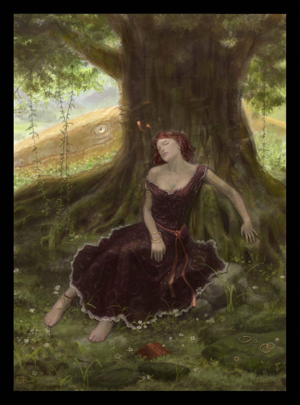 ....dreaming?? by GreenViggen