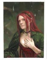 Elandrias portrait II by GreenViggen