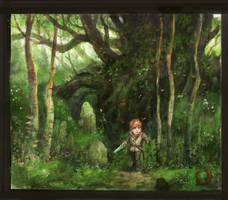 little path .. by GreenViggen