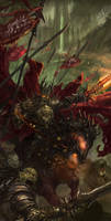 Dark Knight by GreenViggen