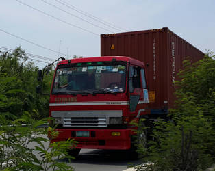 Mitsubishi Fuso The Great tractor by Rodd929