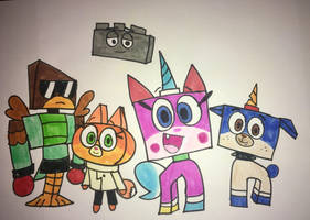 The Stars of Unikitty! by Ducklover4072