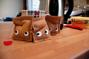 Used Tea Bags by DeathByDesign06
