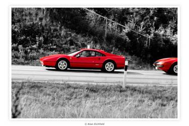 80's Ferrari 328 by Alan-Eichfeld