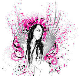 Bound Angel by jqdesigner by Pin-ups